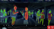 Thermal camera on people